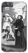 HOGARTH: HUDIBRAS, 1726 iPhone Case by Granger