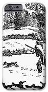 HUNTING: WINTER, c1800 iPhone Case by Granger