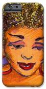 Lady in red iPhone Case by Carole Joyce
