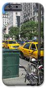 Lined Up for Business iPhone Case by Randi Shenkman
