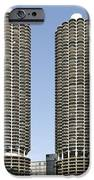 Marina City Chicago - Life in a Corn Cob iPhone Case by Christine Till