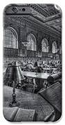 New York Public Library Main Reading Room VI iPhone Case by Clarence Holmes