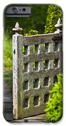 Old Garden Entrance iPhone Case by Heiko Koehrer-Wagner