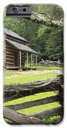 Oliver Cabin in Cade's Cove iPhone Case by Randall Nyhof