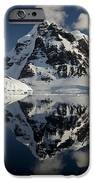 Peaks Along  Neumayer Channel iPhone Case by Colin Monteath