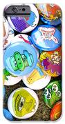Pinback Buttons iPhone Case by Jera Sky