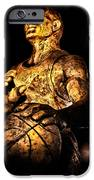 Player In Bronze iPhone Case by Christopher Holmes