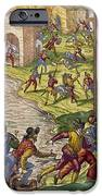 SACK OF CARTAGENA, c1544 iPhone Case by Granger
