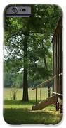 Settlers Cabin Arkansas 2 iPhone Case by Douglas Barnett