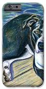Sittin' on the Dock iPhone Case by D Renee Wilson