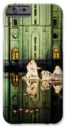 SLC Temple Nativity iPhone Case by La Rae  Roberts