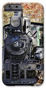 Steam Locomotive on Display iPhone Case by Susan Leggett