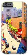 Stockton Street San Francisco . View Towards Union Square iPhone Case by Wingsdomain Art and Photography