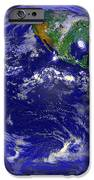 The Americas And Hurricane Andrew iPhone Case by Stocktrek Images
