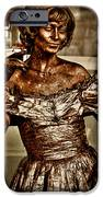 The Bronze Lady in Pike Place Market iPhone Case by David Patterson