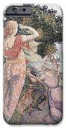 The Excursionists iPhone Case by Henri-Edmond Cross