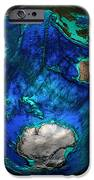 Topographical Map Of Coordinates 45 S iPhone Case by Science Source