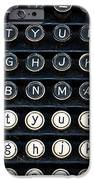 Typewriter Keyboard iPhone Case by Hakon Soreide