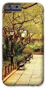 Urban Forest Primeval - Central Park Conservatory Garden in the Spring iPhone Case by Vivienne Gucwa