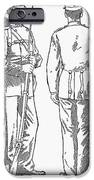 U.S. ARMY: FATIGUES, 1882 iPhone Case by Granger