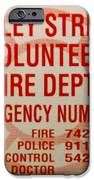 VALLEY STREAM FIRE DEPARTMENT iPhone Case by ROB HANS