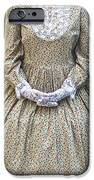 victorian lady iPhone Case by Joana Kruse