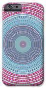 vintage color circle iPhone Case by ATIKETTA SANGASAENG