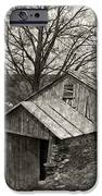 Weathered Hillside Barn iPhone Case by John Stephens