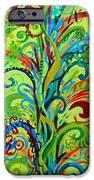 Whirlygig Tree iPhone Case by Genevieve Esson