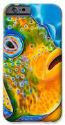 Spotted Angelfish iPhone Case by Daniel Jean-Baptiste