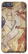 erotic drawing looks like fresco iPhone Case by Michal Boubin