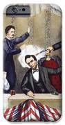 LINCOLN ASSASSINATION iPhone Case by Granger