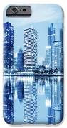 night scenes of city iPhone Case by Setsiri Silapasuwanchai