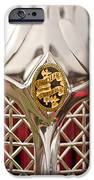 1931 Chrysler CG Imperial LeBaron Roadster Grille Emblem iPhone Case by Jill Reger