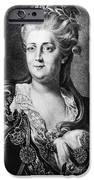 CATHERINE II (1729-1796) iPhone Case by Granger