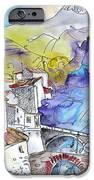 Arnedillo in La Rioja Spain 02 iPhone Case by Miki De Goodaboom