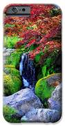Autumn Waterfall iPhone Case by Carol Groenen
