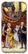 Ben Franklin returns to Philadelphia iPhone Case by War Is Hell Store
