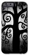 Black and White Tree iPhone Case by Angelina Vick