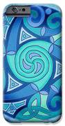 Celtic Planet iPhone Case by Kristen Fox