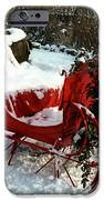 Christmas Sleigh iPhone Case by Andrew Fare