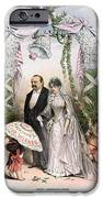 CLEVELANDS WEDDING, 1886 iPhone Case by Granger