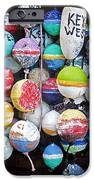 Colorful Key West Lobster Buoys iPhone Case by John Stephens