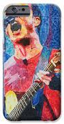 Dave Matthews Squared iPhone Case by Joshua Morton