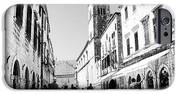 #dubrovnik #b&w #edit iPhone Case by Alan Khalfin