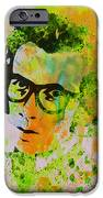 Elvis Costello iPhone Case by Naxart Studio