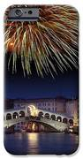 Fireworks Display, Venice iPhone Case by Tony Craddock