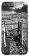 fishing boat graveyard 8 iPhone Case by Meirion Matthias
