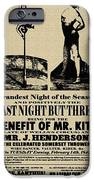 For the Benefit of Mr Kite iPhone Case by Bill Cannon