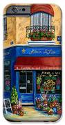 French Flower Shop iPhone Case by Marilyn Dunlap